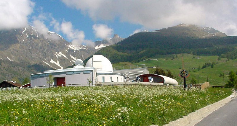 osservatorio astronomico valle d'aosta